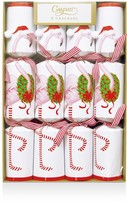Caspari Christmas Flamingo Crackers, Box of 8