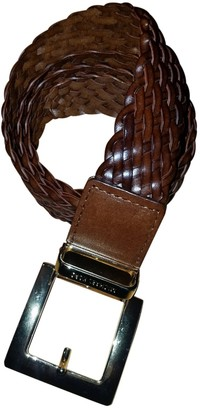 Michael Kors Brown Leather Belts