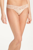 Hanky Panky Women's 'Logo' Low Rise Thong