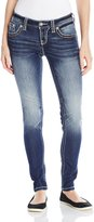 Miss Me Women's Contrast Stitch Skinny Denim Jean