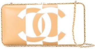 2017 bicolour CC shoulder bag