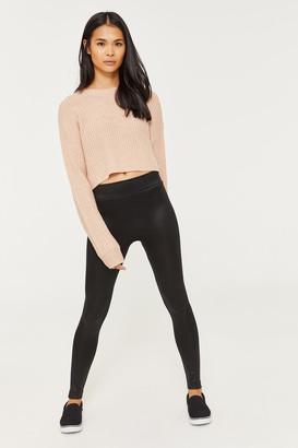 Ardene Shiny Fleece-Lined Leggings