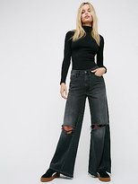 We The Free Relaxed Wide Leg Jean by at Free People