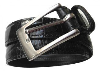 Mulberry Black Leather Belts