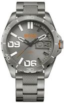 HUGO BOSS 1513289 Brushed Stainless Steel Quartz Watch One Size Assorted-Pre-Pack