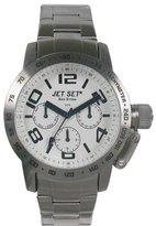 Jet Set J30644-132 San Remo Dame Ladies Watch – Quartz – Chronograph – White Dial – Steel Bracelet Silver