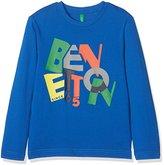 Benetton Boy's T-Shirt Longsleeve Long Sleeve Top