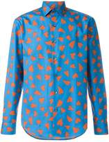 J.W.Anderson heart print shirt