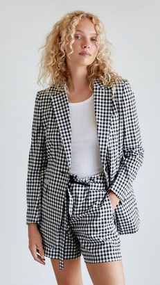 Rag & Bone Ames Gingham Blazer