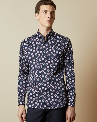 Ted Baker WEWILL Floral print cotton shirt