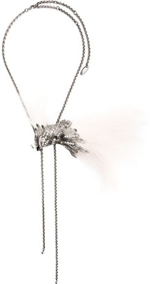 Lanvin Bird Charm Necklace