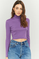 Urban Outfitters Ribbed Cropped Turtleneck Top