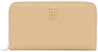 Burberry Monogram ziparound wallet