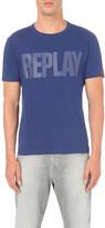 Replay Logo cotton-jersey t-shirt