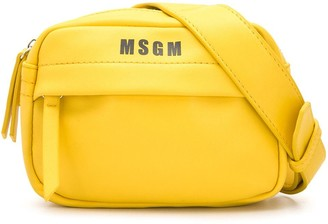 Msgm Kids Logo Print Cross Body Bag