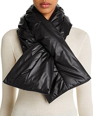 URBAN RESEARCH All Weather Packable Puffer Scarf & Pouch
