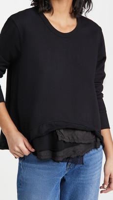 Wilt Mixed Elements Crew Sweatshirt