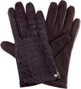 Henri Bendel Embossed Gloves