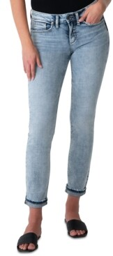 Silver Jeans Co. Suki Straight Leg Ankle Jeans