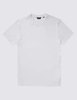 Autograph 2in Longer Supima® Cotton Crew Neck Vest