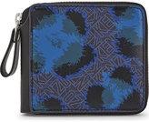 Leopard Flying Kenzo Leather Wallet