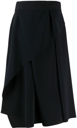 Chalayan Asymmetric Pleated Skirt
