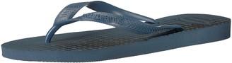 Havaianas Men's Top Basic Flip Flop Sandal Indigo Blue 8 M US