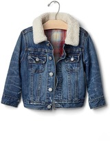 Gap babyGap + Pendleton cozy denim jacket