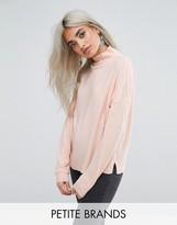 Noisy May Petite High Neck Sweater