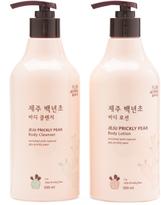 Made In Korea 2pc Jeju Prickly Pear Body Care Set