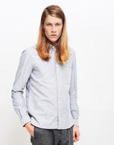 YMC Jan & Dean Oxford Shirt Grey