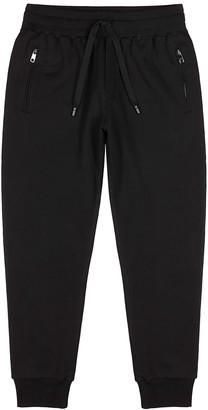 Dolce & Gabbana Black cotton sweatpants