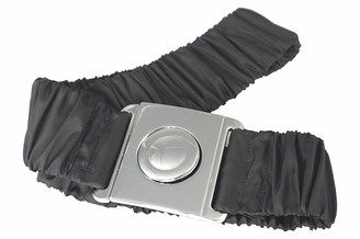 Agrafa Stretch Elastic Grey Jacket Belt Waterproof fabric Plastic Clasp Belt (M)