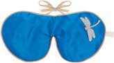 Holistic Silk Lavender Eye Mask - Blue