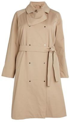 Marina Rinaldi Cotton Gabardine Trench Coat