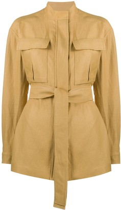 Loro Piana Belted Fitted Jacket