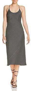 Alexander Wang Wash & Go Striped Slip Dress