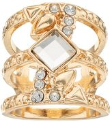 JLO by Jennifer Lopez Stacked 3-Row Ring