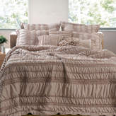 Ruched Quilt Set
