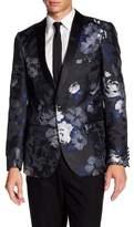 Paisley & Gray Floral Tuxedo Jacket