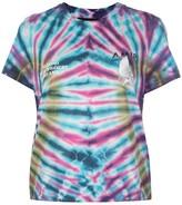 Amiri tie dye logo print T-shirt
