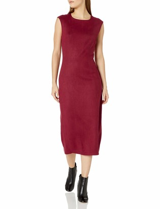 Level 99 Women's Kimi Seamed Suede Dress