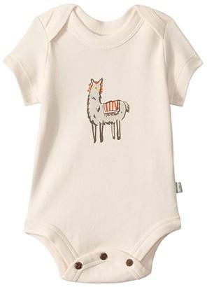 Finn + emma Llama Lap Bodysuit (Infant) (Egret) Kid's Jumpsuit & Rompers One Piece