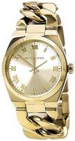 Michael Kors Channing MK3393 Women's Wrist Watches, Gold Dial
