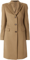 Tagliatore classic buttoned coat - women - Cupro/Cashmere - 40