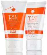 TanTowel On the Glow Face Duo