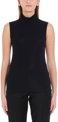 Theory Turtleneck Sleeveless Top