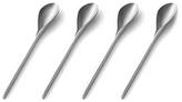 Alessi E-Li-Li - Set of 4 Stainless Steel Coffee Spoons