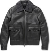 Brioni - Shearling Bomber Jacket