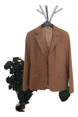 Stefanel Gold Synthetic Jackets
